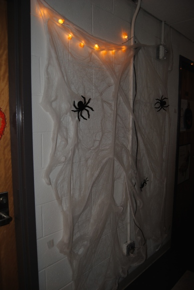 Get excited for Halloween and decorate your dorm or suite. Nothing says fall like some spooky spiders!
