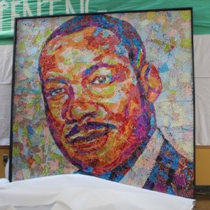 Unveiling of the portrait of Dr. Martin Luther King Jr.