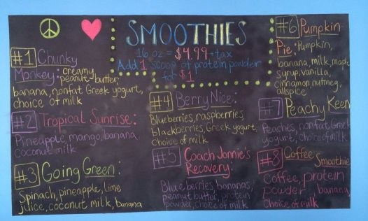 Tracy's Smoothie