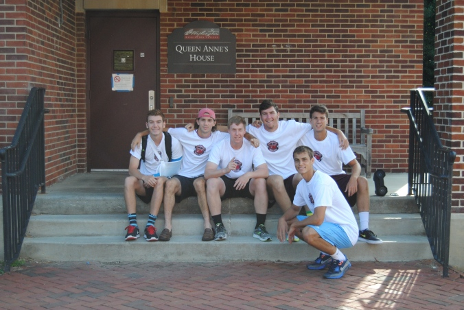 The Men's Soccer team gets ready for The Class of 2019