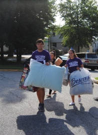 Peer Mentors gave families a much needed helping hand