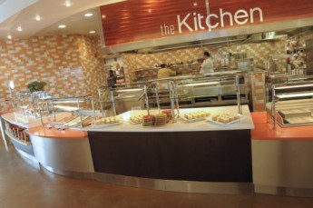 The Kitchen is one of the food stations in the dining hall
