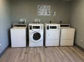 Laundry room in Corsica looks very posh